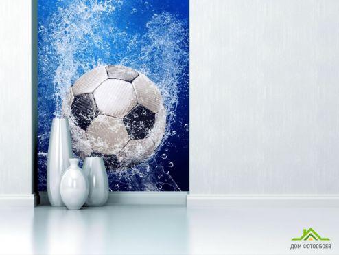 обои Спорт Фотообои мяч под водой