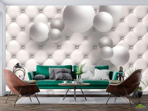 3Д  3д фотообои 3D шары