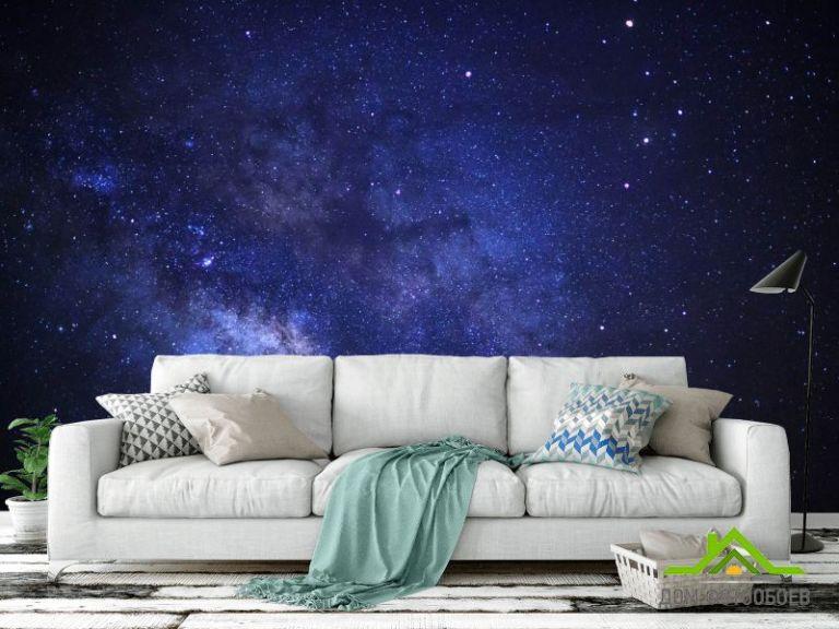 Фотообои Ночное звёздное небо