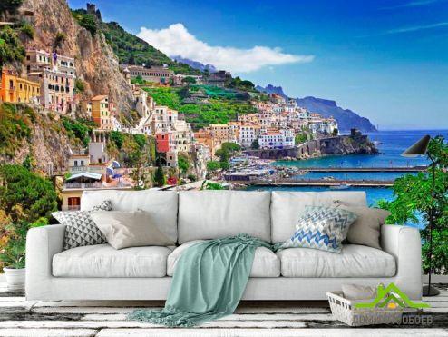 Италия Фотообои Позитано, Италия