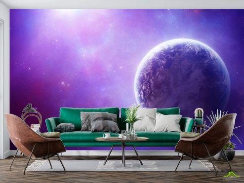 Космос Фотообои Земля и звезды