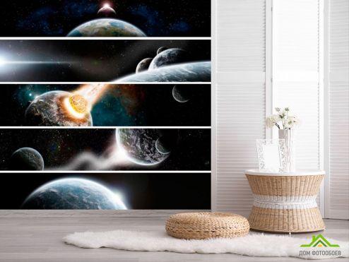 обои Космос Фотообои Астероид