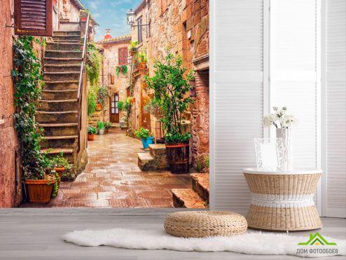 обои Улицы Фотообои Уютный дворик