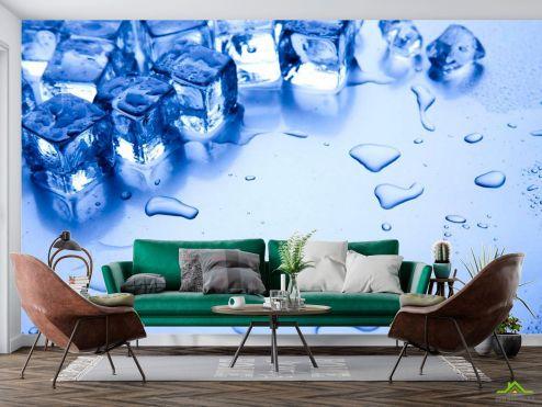 Фотообои Еда и напитки по выгодной цене Фотообои Лёд