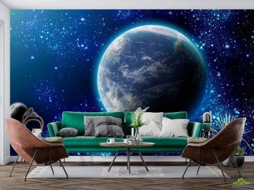 Фотообои Космос по выгодной цене Фотообои Земля и звезды