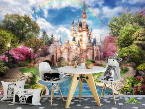 для малышей Фотообои Сказочный замок