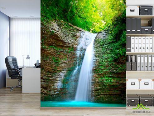Водопад Фотообои Водопад, вода