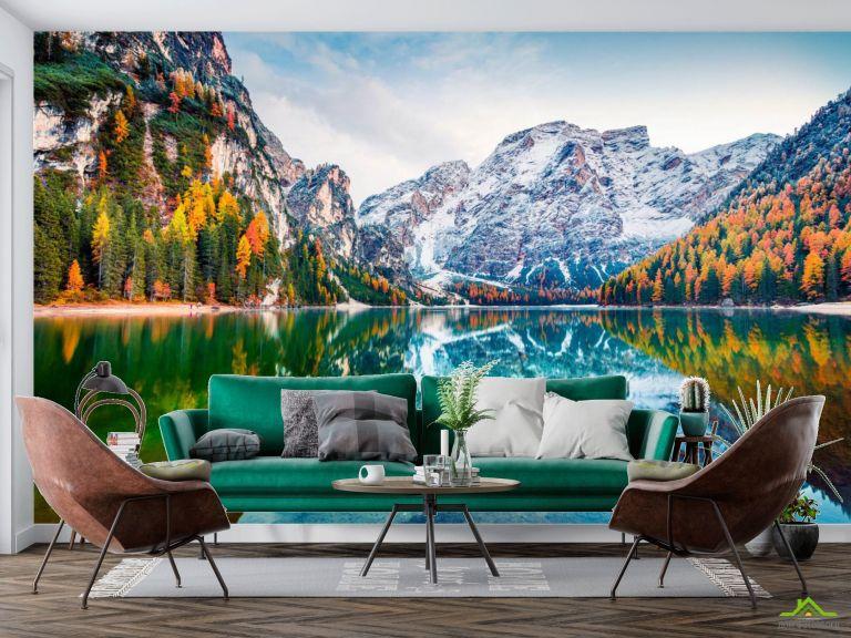Фотообои Озеро скандинавское