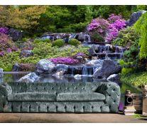 Фотообои Водопад, озерцо
