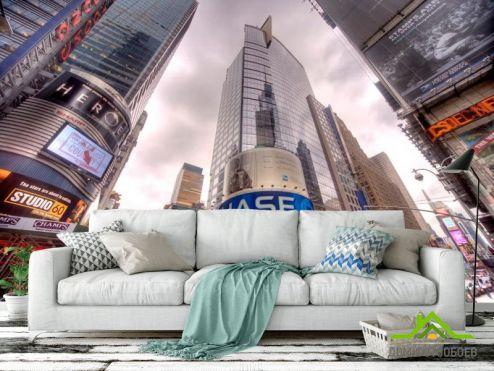 Шанхай Фотообои Час пик перекресток в Шанхае купить