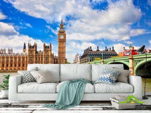 обои Город Фотообои Биг-Бен в Лондоне