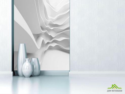 3Д обои Фотообои Белые волны