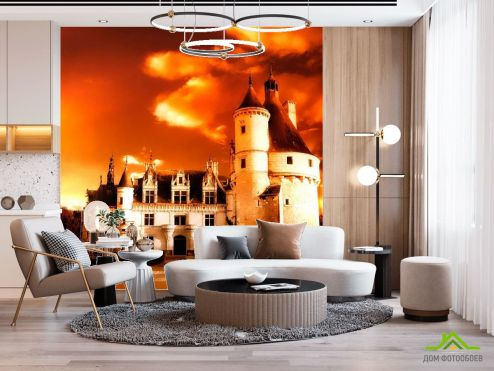 Замок Фотообои Реставрация замка