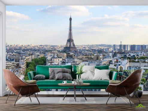 Париж Фотообои Парижский день