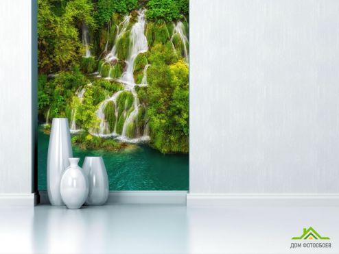 обои Природа Фотообои водопад
