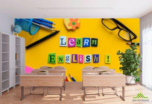 для школы Фотообои Для кабинета английского