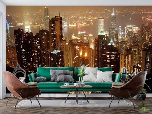 Фотообои Чикаго по выгодной цене Фотообои Город Чикаго с высоты