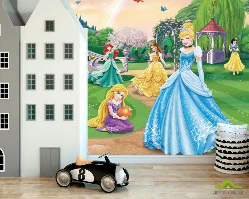 обои Disney Фотообои Принцессы диснея