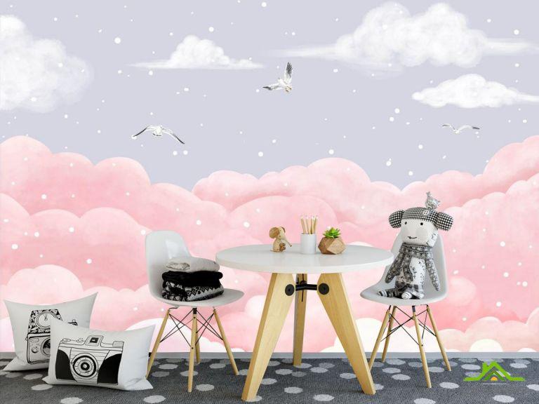 Фотообои Пастельное небо
