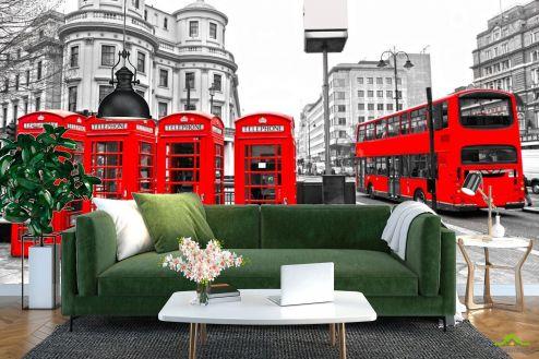 Каталог фотообоев Фотообои Городской автобус, Лондон