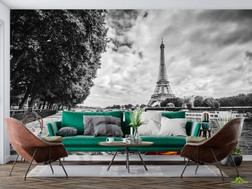 Старый город Фотообои Париж купить