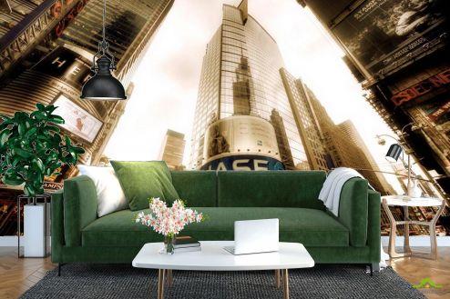 Шанхай Фотообои Перекресток, высотки Шанхая купить