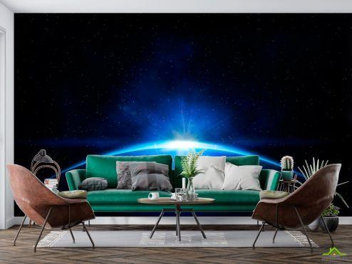 Космос Фотообои Восход солнца