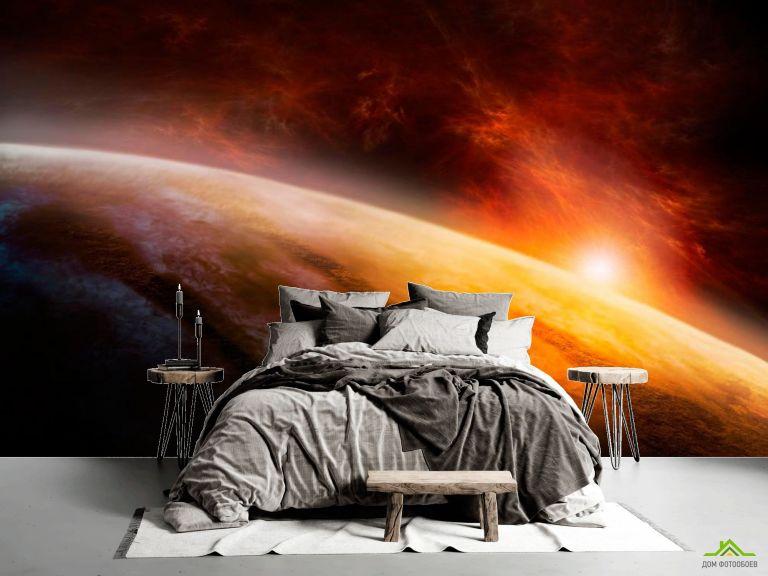 Фотообои Вспышки солнца