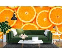 Фотообои Нарезанные апельсины
