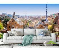 Фотообои Город в Барселоне