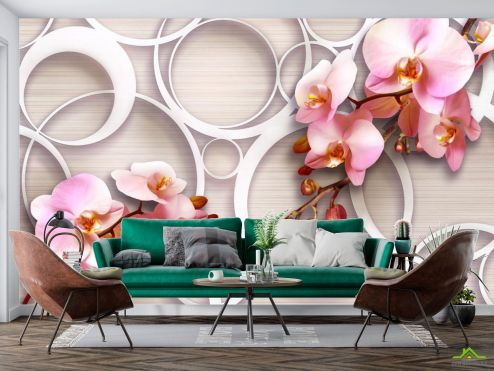 Фотообои Орхидеи 3д купить