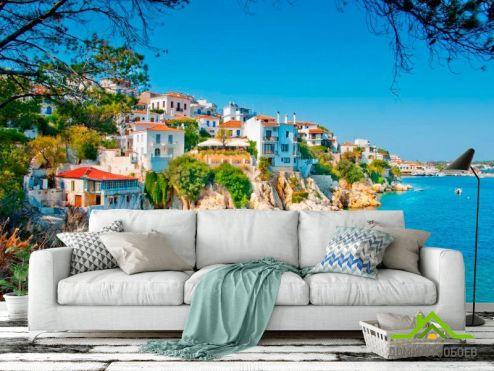 обои Греция Фотообои Городок в Греции