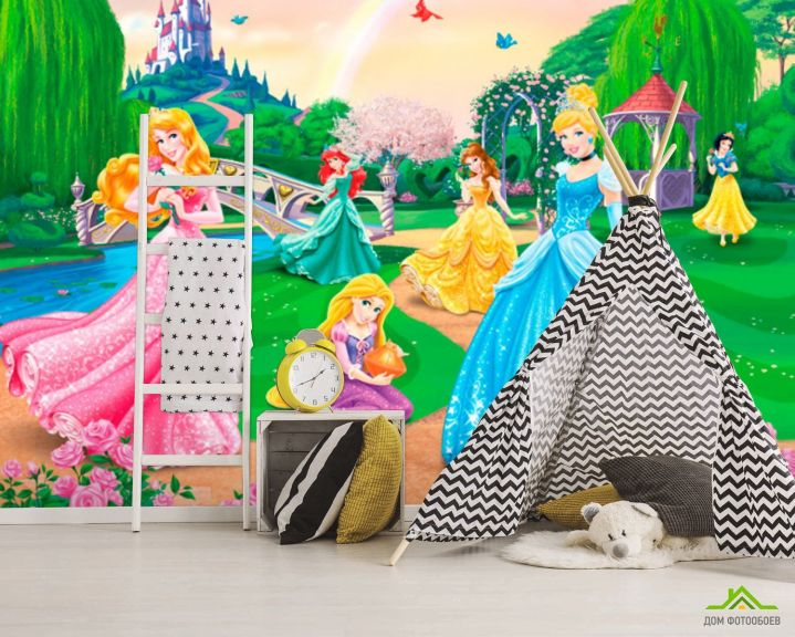 Фотообои Три принцессы