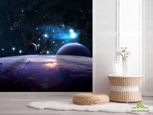 обои Космос Фотообои Звездные планеты
