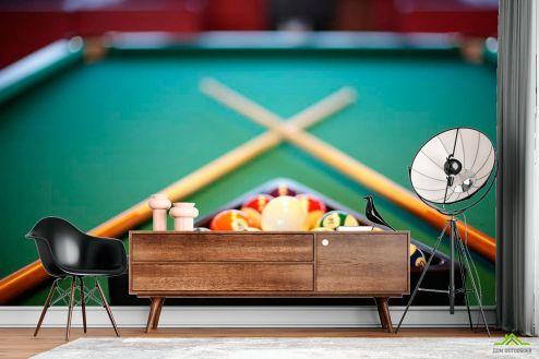 Фотообои Спорт по выгодной цене Фотообои Бильярд