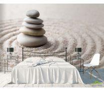 Фотообои камни на песке