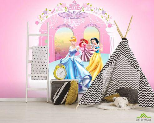 обои Принцессы Фотообои Принцессы
