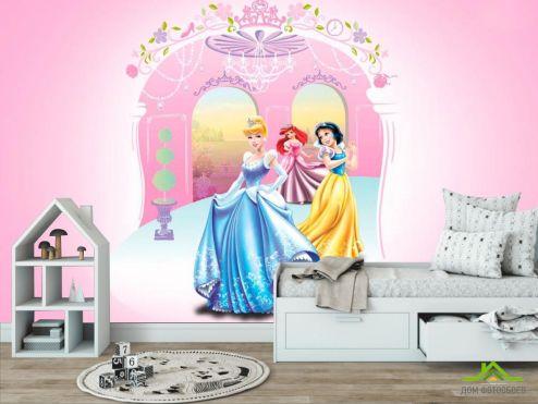 обои в детскую Фотообои Принцессы
