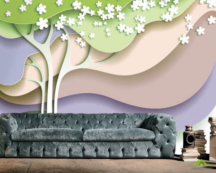 Фотообои 3d дерево