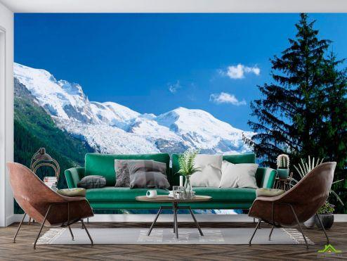 Фотообои Природа по выгодной цене Фотообои Снег,ёлка