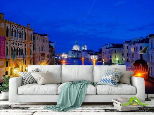 обои Италия Фотообои Ночная Италия