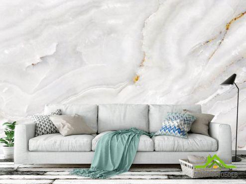 Мрамор Фотообои Белый мрамор
