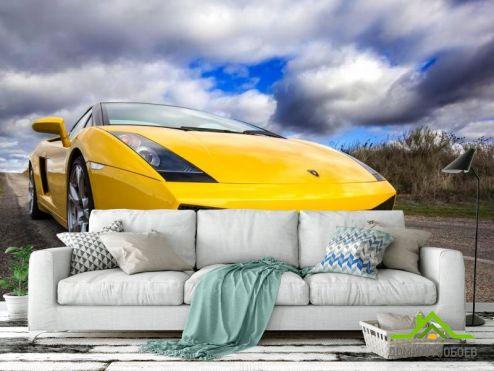 Фотошпалери автомобілі Фотообои Lamborghini Aventador F643