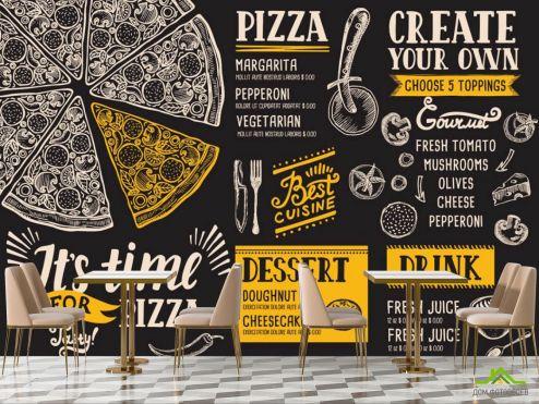 для кафе Фотообои Пицца фотообои