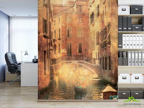 Желтые  Фотообои Венеция