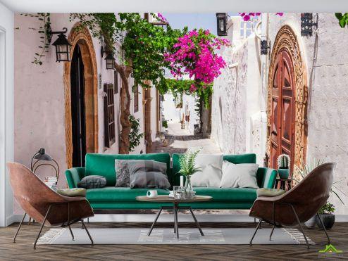 Улицы Фотообои Улочка Греции