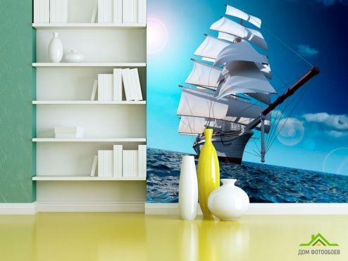 Корабли Фотообои Парусник