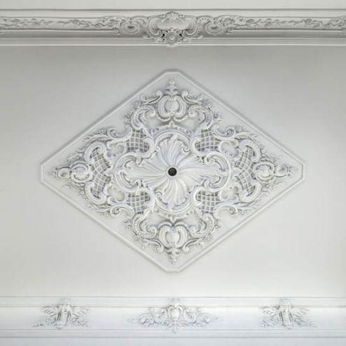 на потолок Фотообои Лепка для потолка