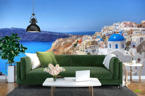 Город Фотообои Греция
