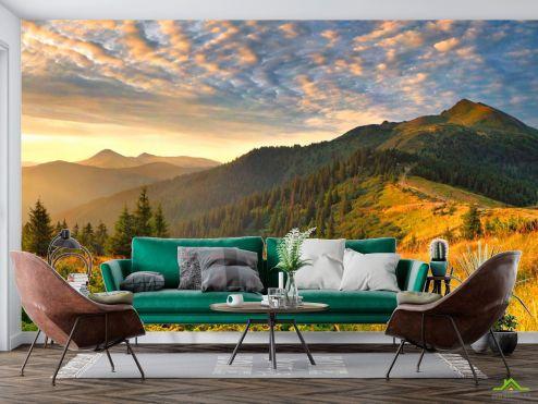 Фотообои Природа по выгодной цене Фотообои Луг в горах